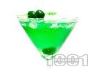 Рецепта Коктейл Зелено Мартини (Green Martini)